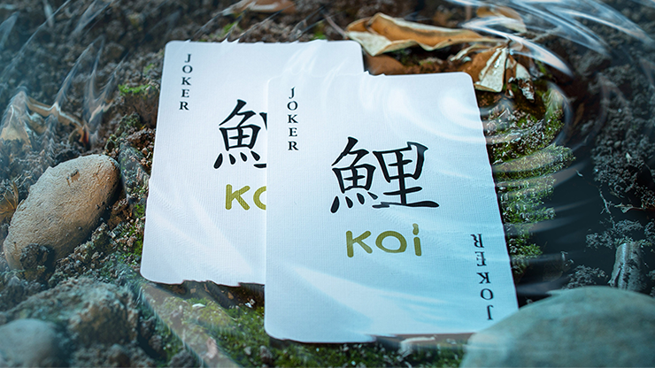 Koi v2 Playing Cards
