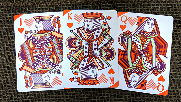 Pi Plum Playing Cards