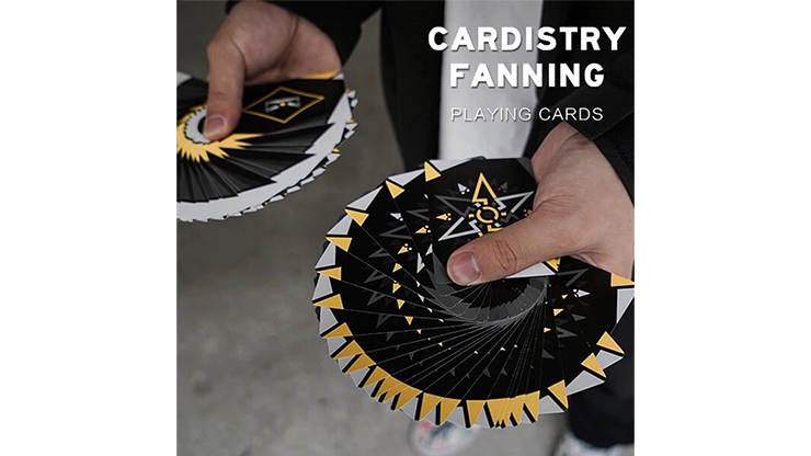 Cardistry Fanning Yellow Playing Cards