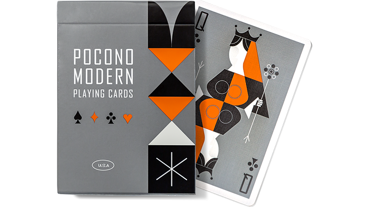 Retro Colored Playing Cards