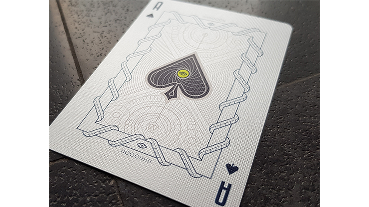 Monolith White Playing Cards