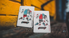 Skateboard Red (Marked) Playing Cards