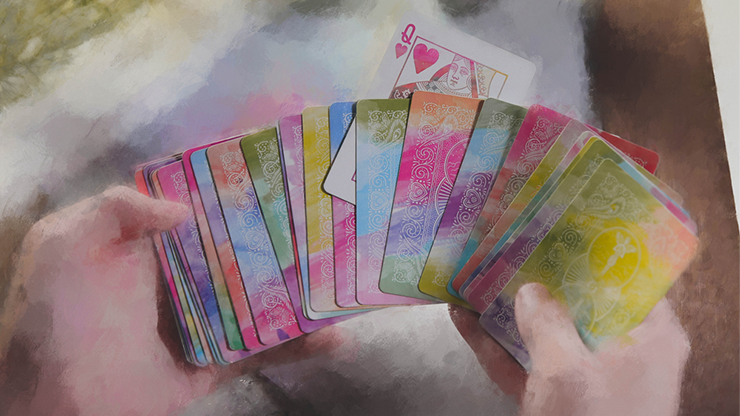Bicycle Rainbow v2 Playing Cards