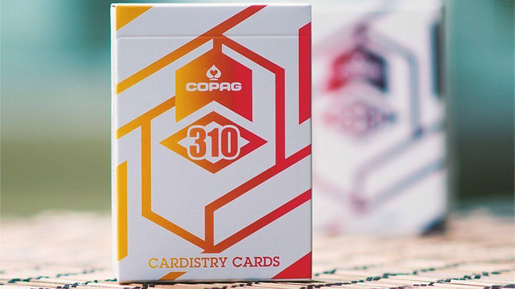 Copag 310 Alpha Orange Playing Cards