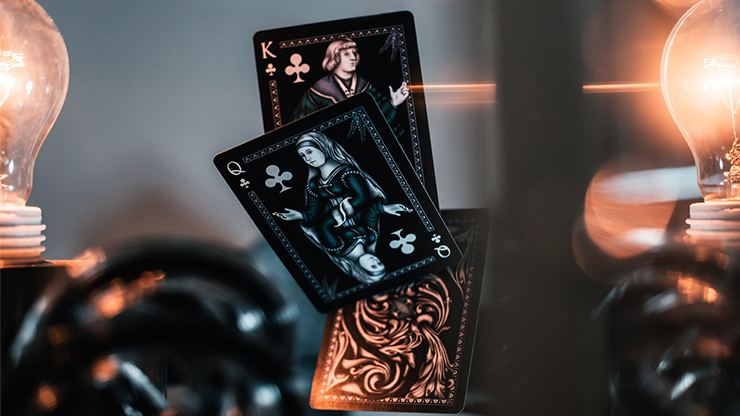 Apothecary Midnight Elixir Playing Cards