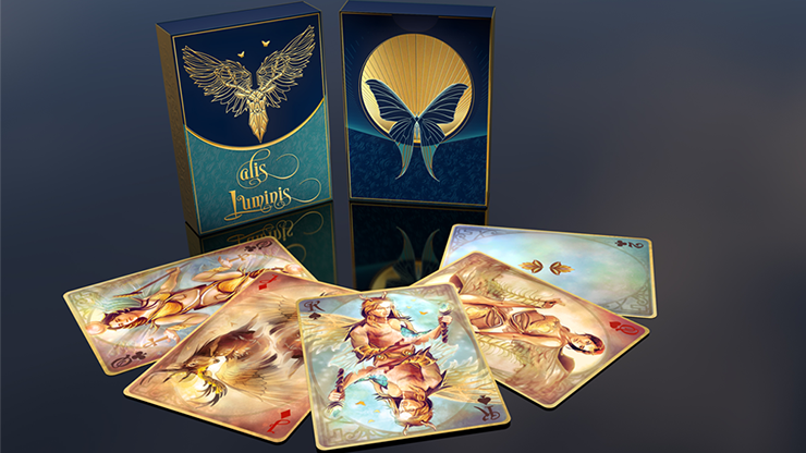 Alis Luminis Winged Playing Cards