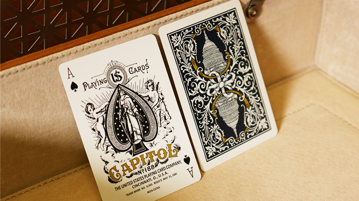 Bicycle Capitol Blue Playing Cards