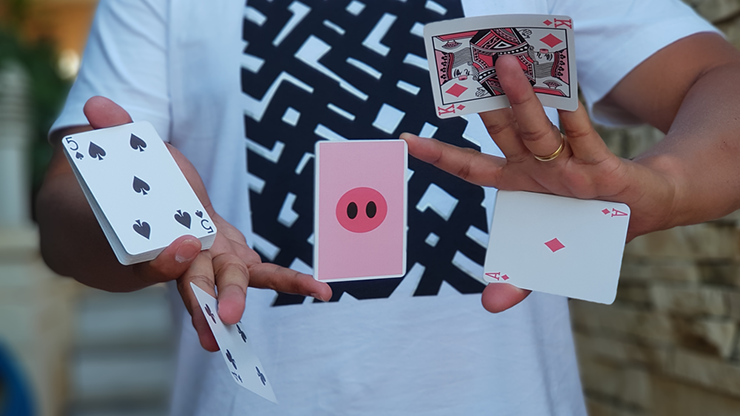 Oink Oink Playing Cards