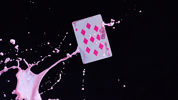 Zone Pink Playing Cards