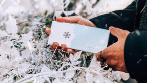 NOC Winter Glacier Ice Playing Cards