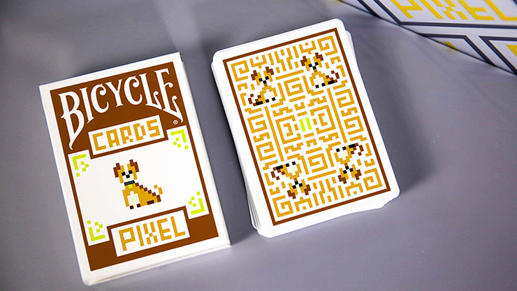 Bicycle Pixel Dog Playing Cards