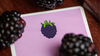Snackers Blackberry Playing Cards