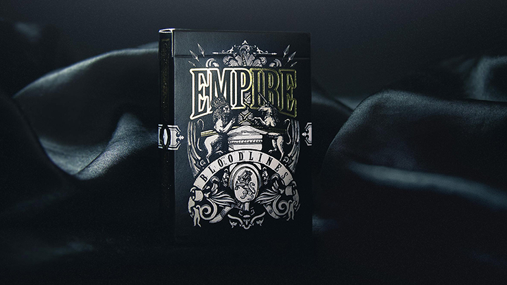 Empire Bloodlines Black Limited Edition Playing Cards
