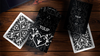 Tulip Black Playing Cards