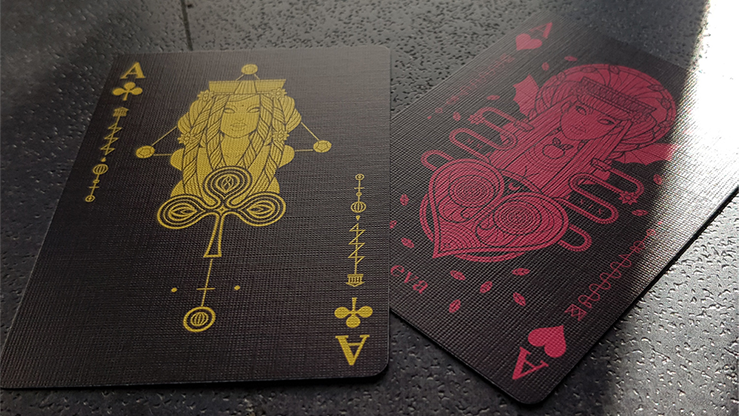 Eva Noire Playing Cards