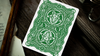 666 Green Playing Cards
