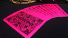 Bicycle Nautic Back Pink Playing Cards