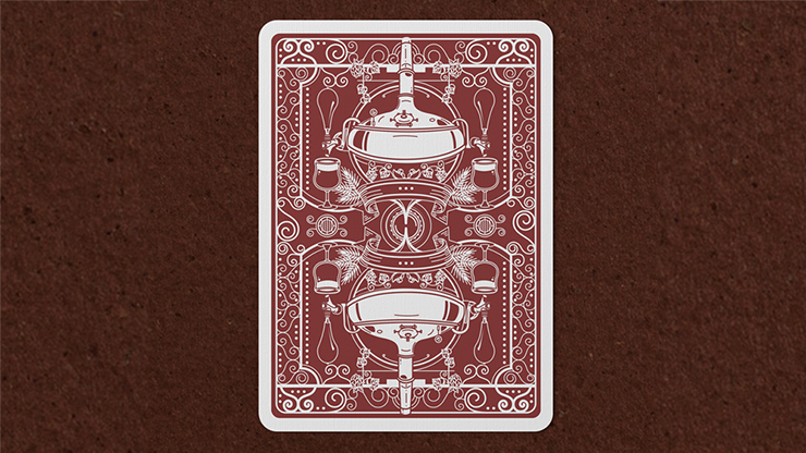 Hops and Barley Deep Amber Ale Playing Cards