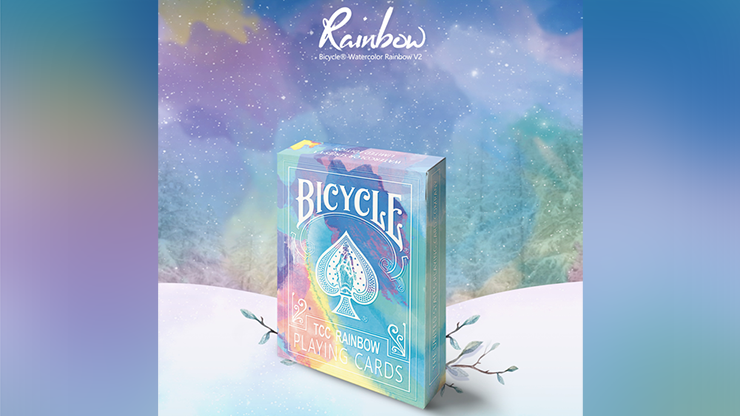 Bicycle Rainbow Cedar Playing Cards