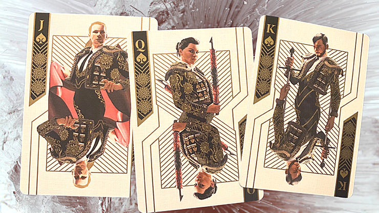 Bicycle Matador Black Playing Cards