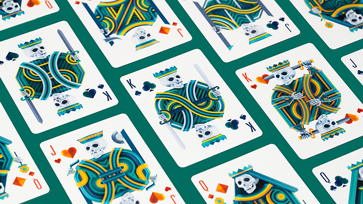 Play Dead v2 Playing Cards