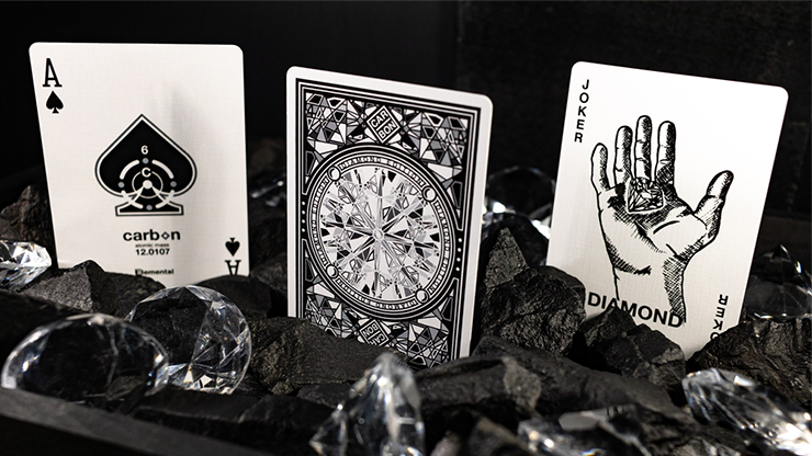 Carbon Diamond Edition Playing Cards