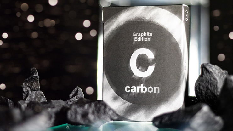 Carbon Graphite Edition Playing Cards