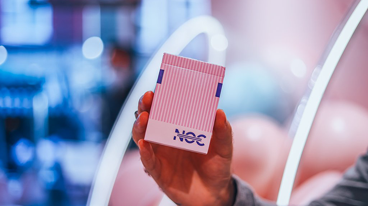 NOC 3000X2 Limited Edition Pink Playing Cards