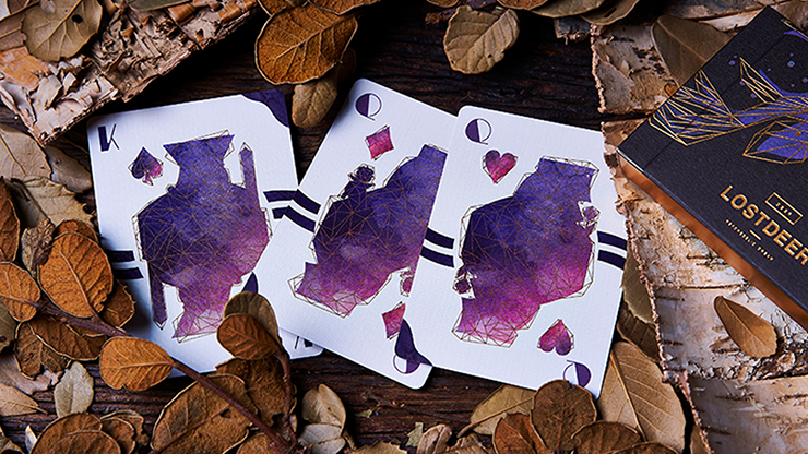 Lost Deer Black Edition Playing Cards
