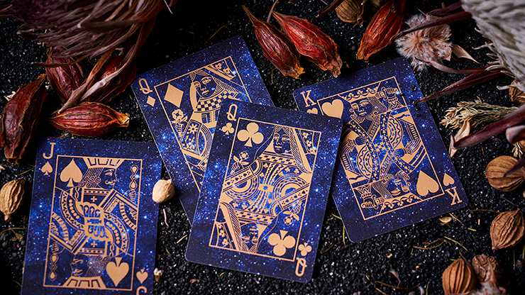 Solokid Constellation Series Gemini Playing Cards