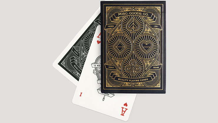 The MGCO Black Playing Cards