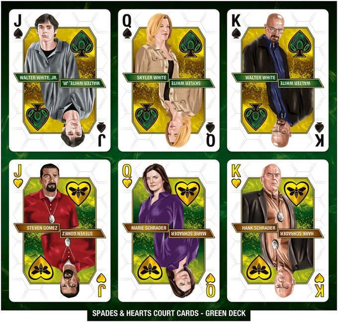 Breaking Bad Playing Cards