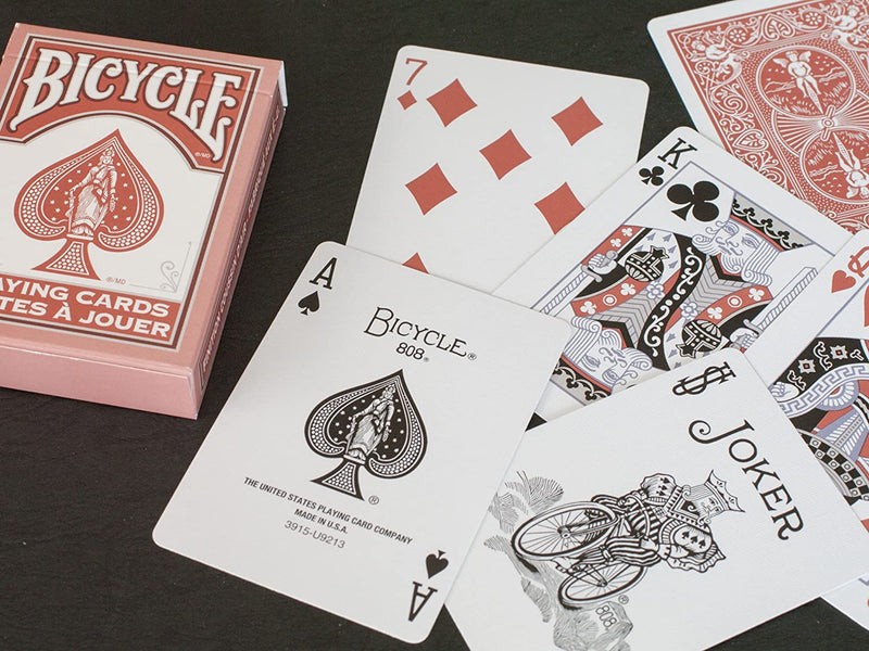 Bicycle Marsala Playing Cards
