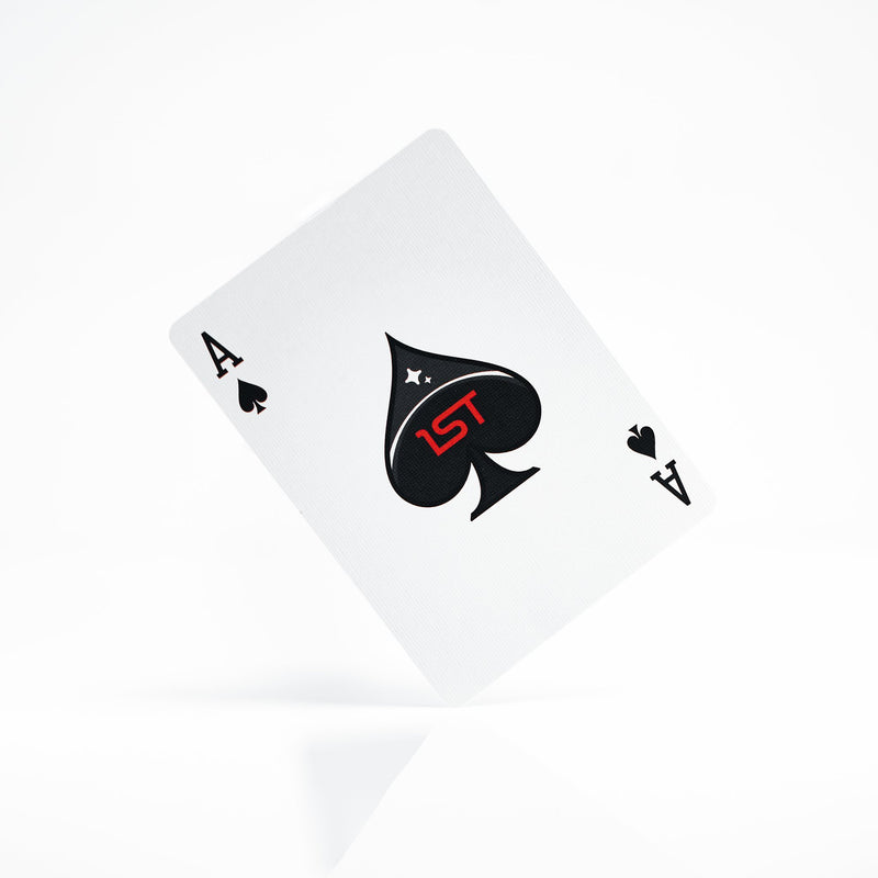 1st v4 Red Playing Cards