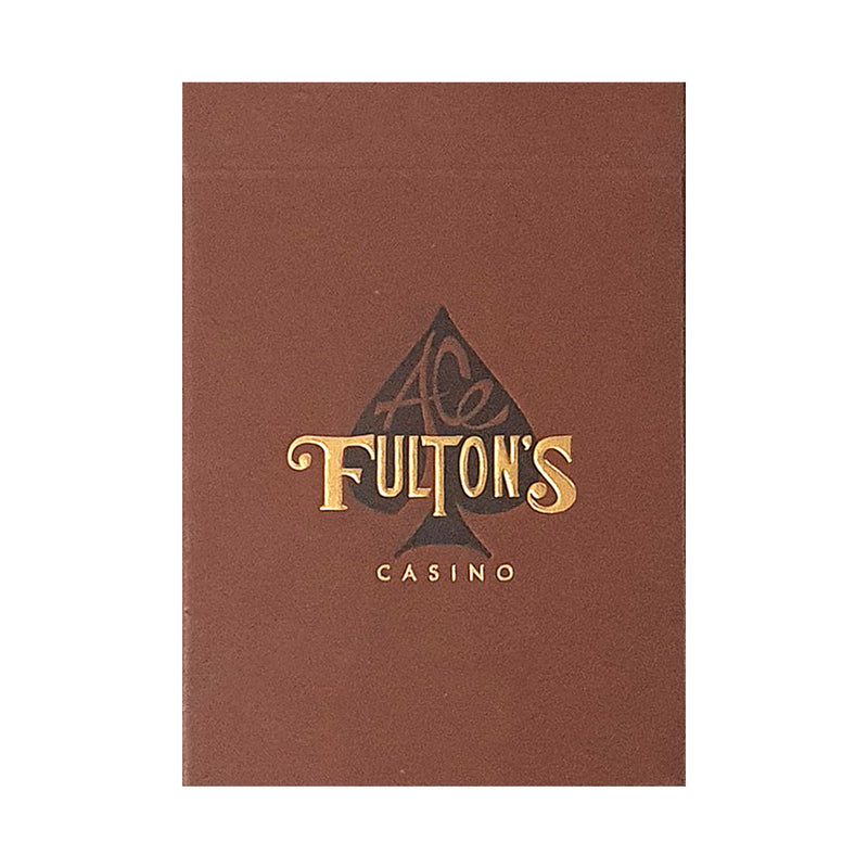 Ace Fulton's Casino Vintage Back Playing Cards