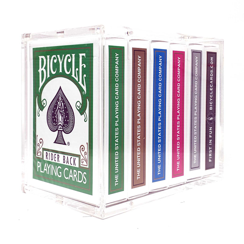 Playing Cards Crystal Half Brick Case (6 Decks)