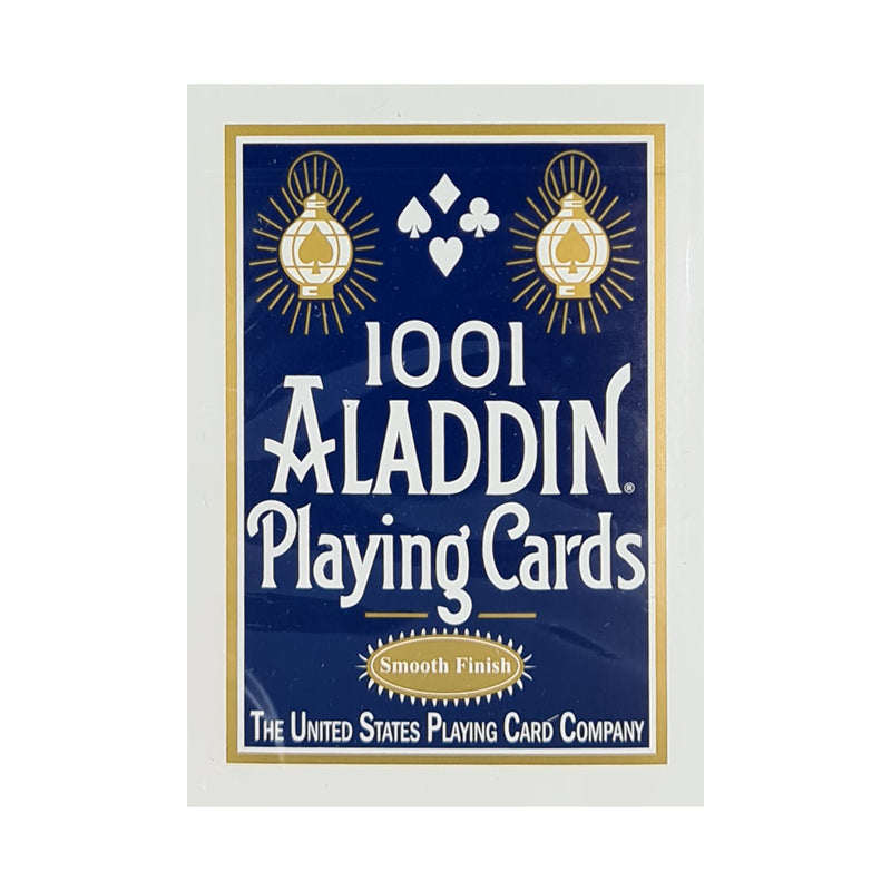 Aladdin 1001 Smooth Finish Blue Playing Cards