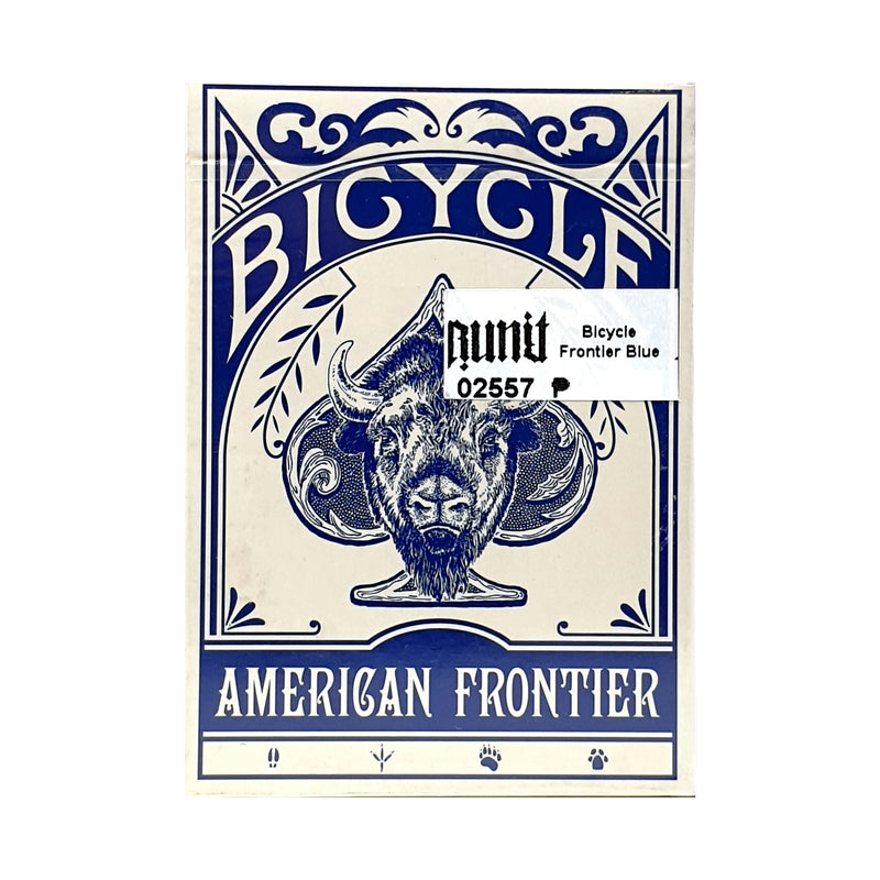 Bicycle Frontier Blue Playing Cards