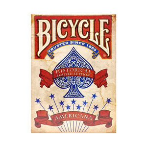 Bicycle Americana Red Playing Cards (Signed)