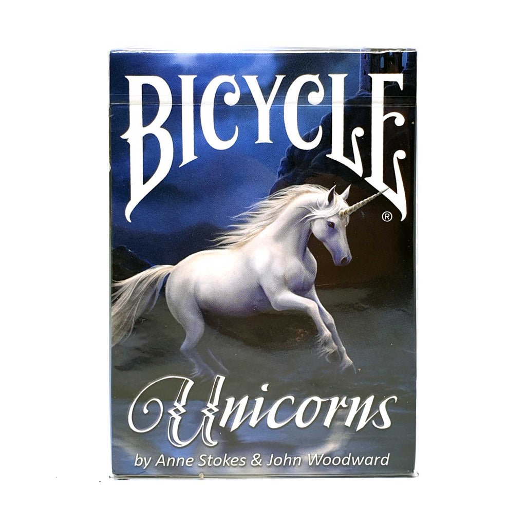 Bicycle Anne Stoke's Unicorns Playing Cards