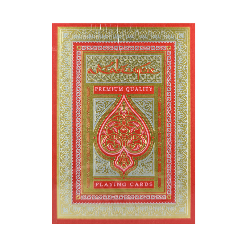 Arabesque Player's Edition Red Playing Cards
