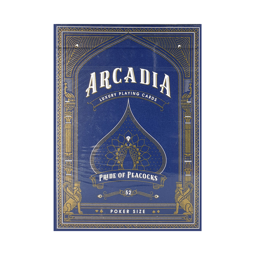 Arcadia Pride of Peacock Playing Cards