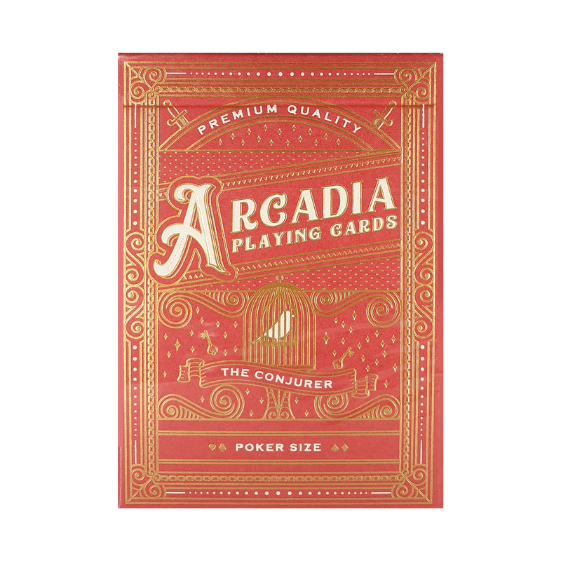 Arcadia Conjurer Red Playing Cards