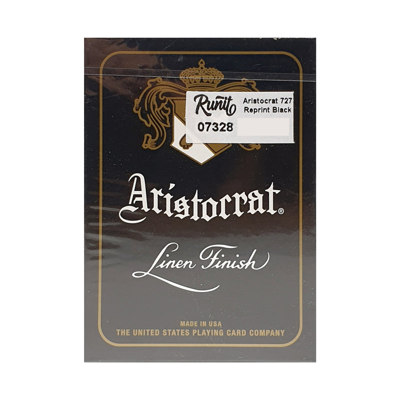 Aristocrat 727 Reprint Black Playing Cards