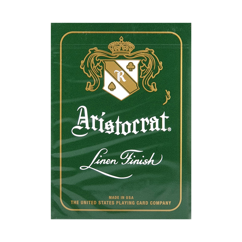 Aristocrat 727 Green Playing Cards