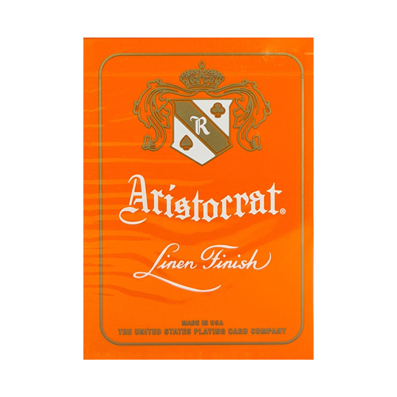 Aristocrat 727 Orange Playing Cards