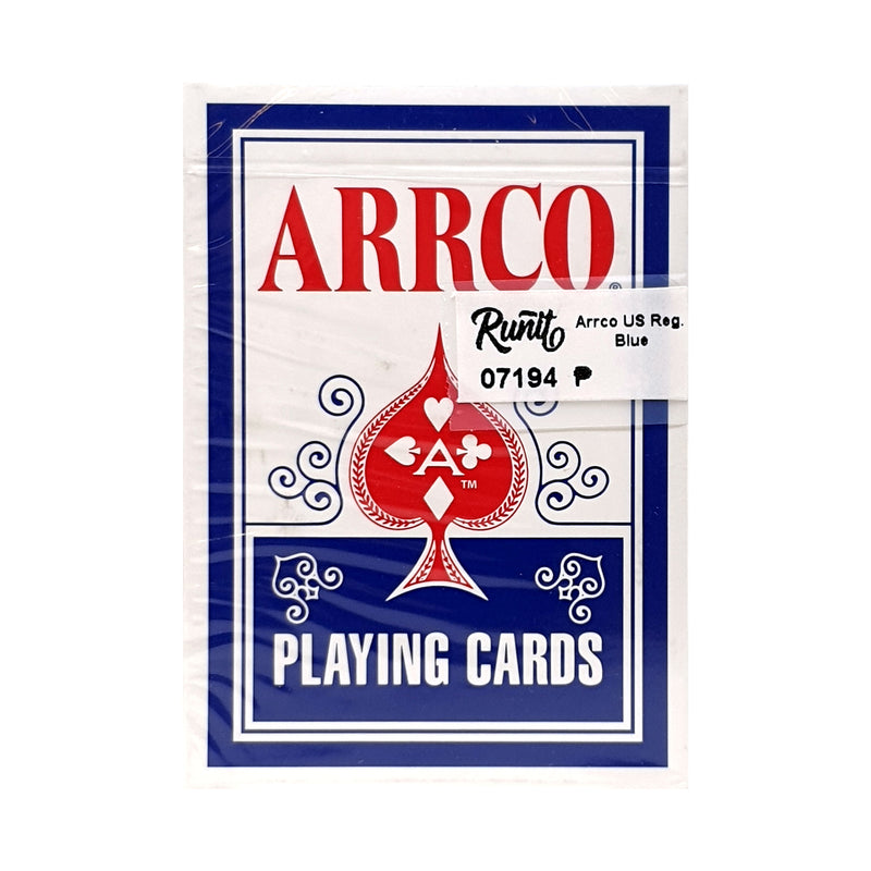 Arrco US Regulation Blue Playing Cards