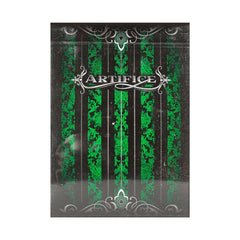 Artifice Emerald Playing Cards