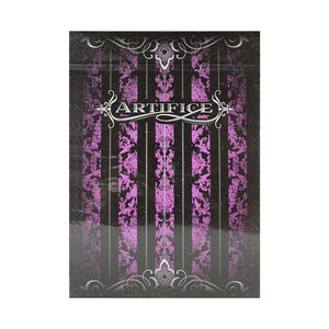 Artifice Purple Playing Cards