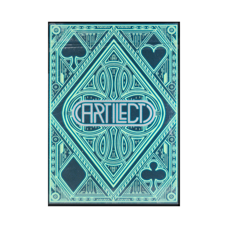 Artilect Green Playing Cards